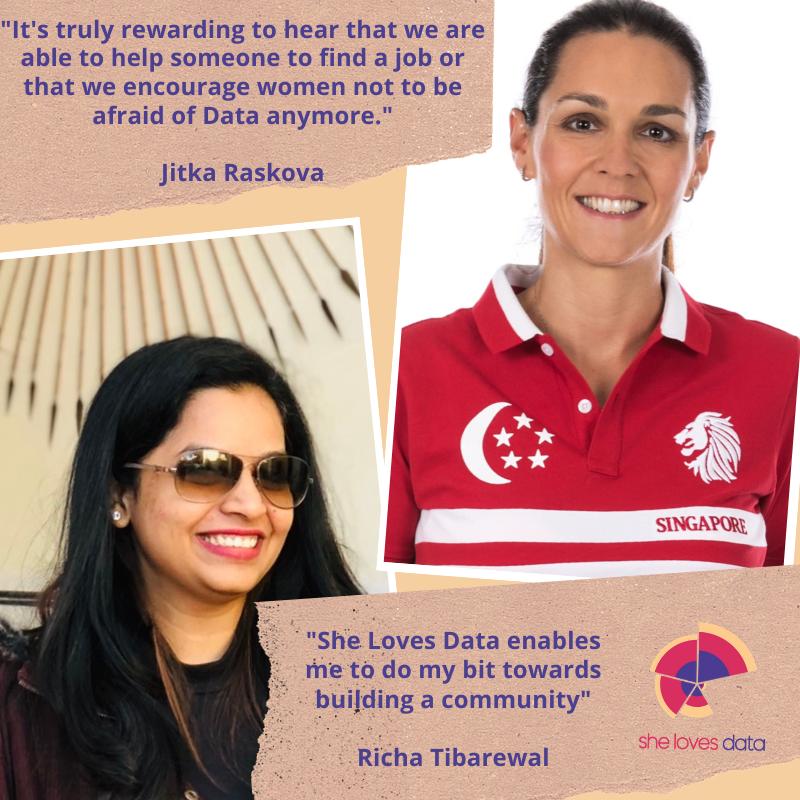 Jitka Raskova and Richa Tibarewal